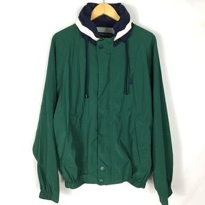 Vintage Nautica retro 90s men's windbreaker jacket